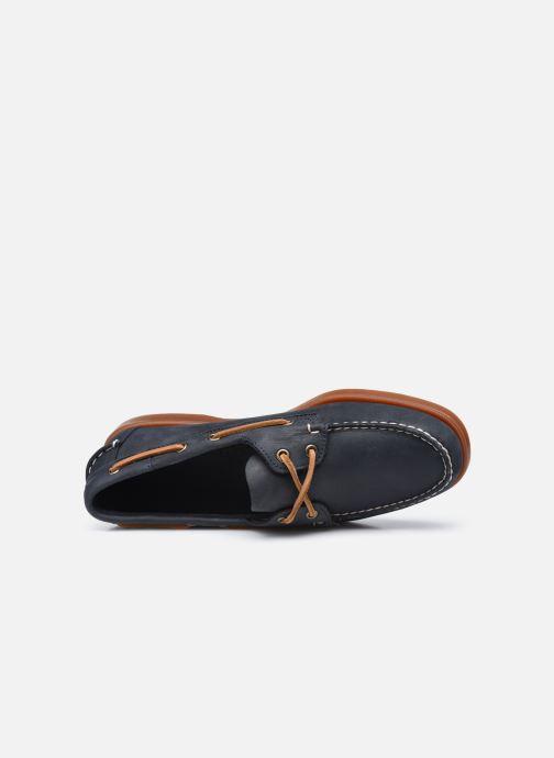 Zapatos con cordones Sebago Portland Crazy H C AH2020 Azul vista lateral izquierda