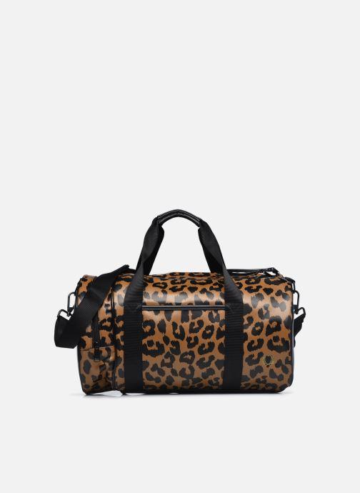 Bagages Fred Perry Leopard Print Barrel Bag Marron vue détail/paire