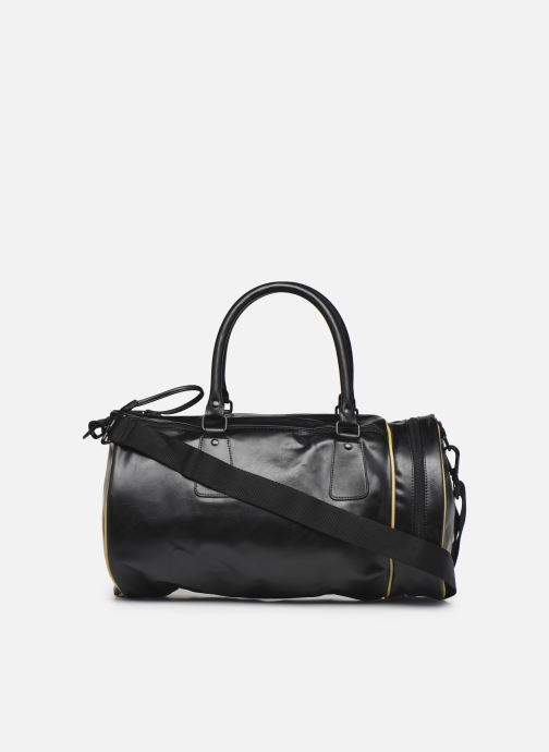 Sacs de sport Fred Perry Sharp Pu Barrel Bag Noir vue face