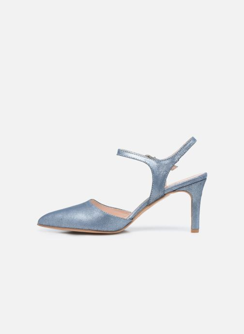 Zapatos de tacón Elizabeth Stuart RAF 2161 Azul vista de frente