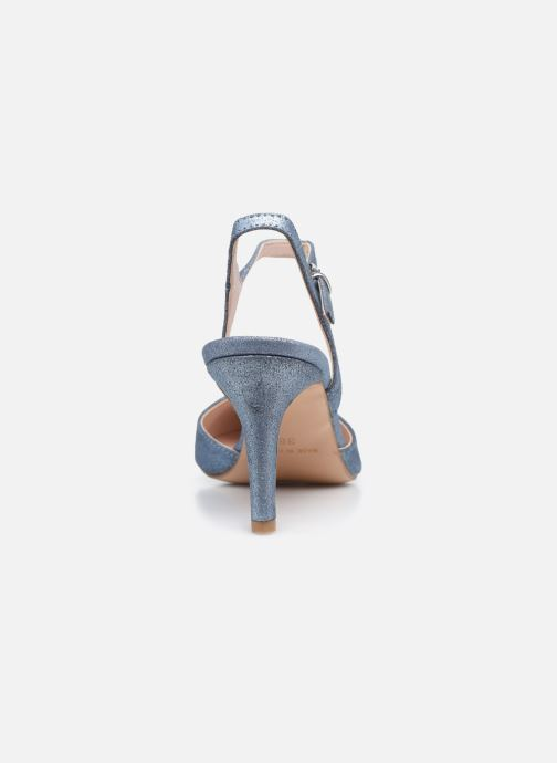 Zapatos de tacón Elizabeth Stuart RAF 2161 Azul vista lateral derecha