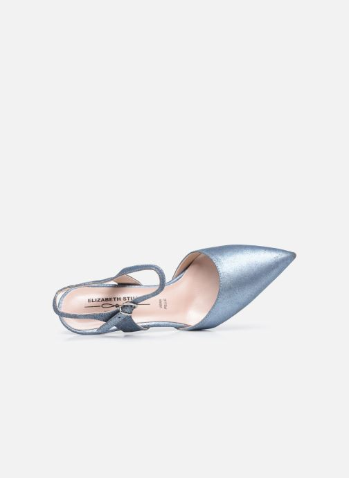Zapatos de tacón Elizabeth Stuart RAF 2161 Azul vista lateral izquierda