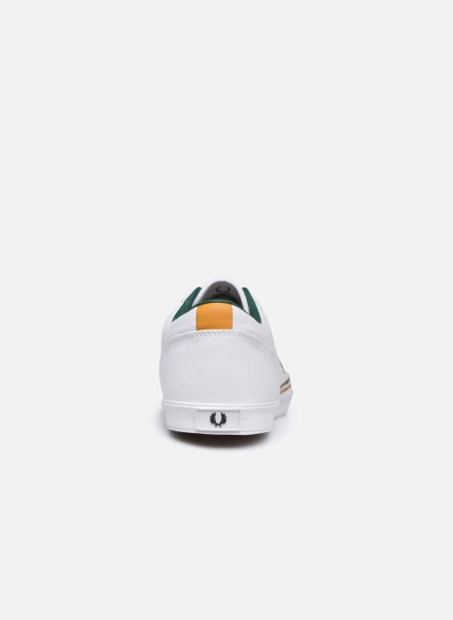 Baskets Fred Perry Baseline Twill Blanc vue droite