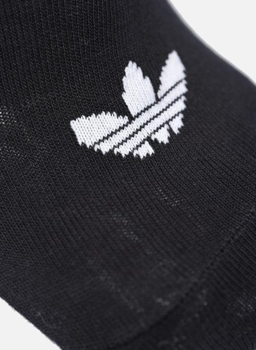 Chaussettes et collants adidas originals Trefoil Liner Blanc vue portées chaussures
