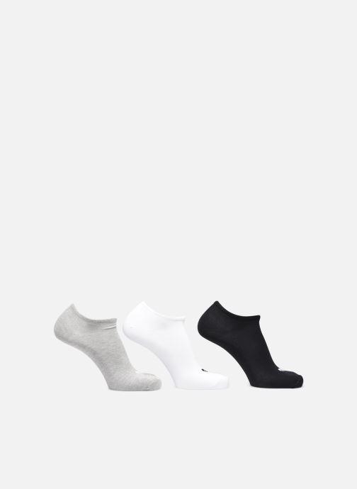 Chaussettes et collants adidas originals Trefoil Liner Blanc vue détail/paire