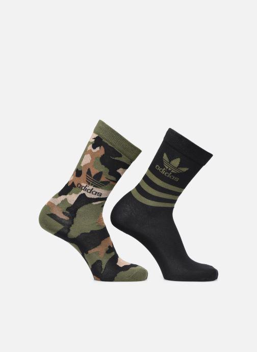 Sokken en panty's adidas originals Camo Crew Sock Groen detail