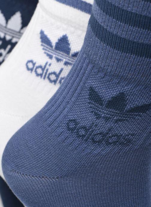 Socken & Strumpfhosen adidas originals Mid Cut Crw Sck blau schuhe getragen