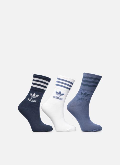 Socken & Strumpfhosen adidas originals Mid Cut Crw Sck blau detaillierte ansicht/modell