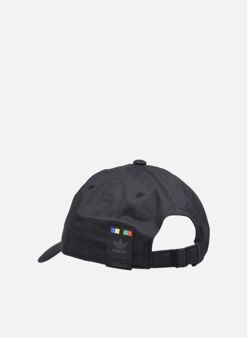 Cappellino adidas originals Goofy Cap Nero immagine frontale