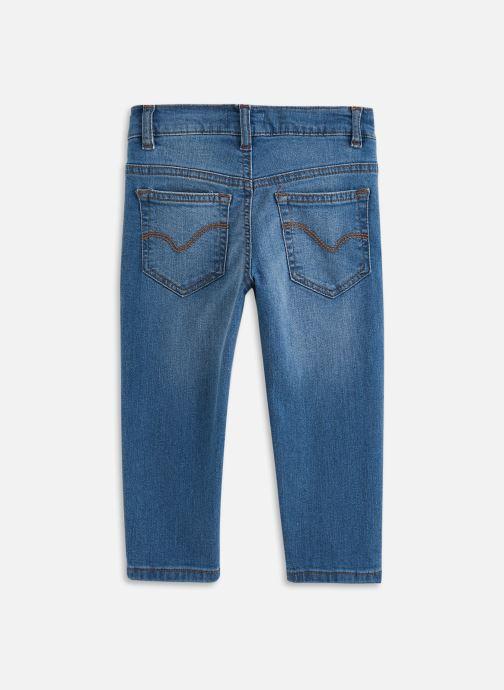 Vêtements Cyrillus Jean Jeremy Bleu vue bas / vue portée sac