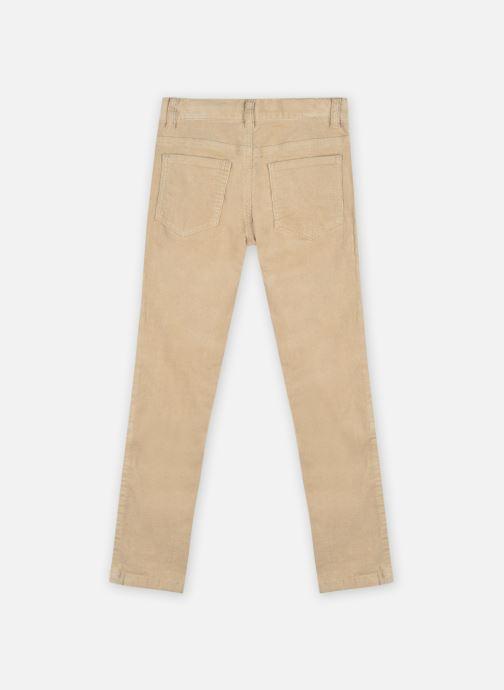 Vêtements Cyrillus Pantalon Johnatan Beige vue portées chaussures