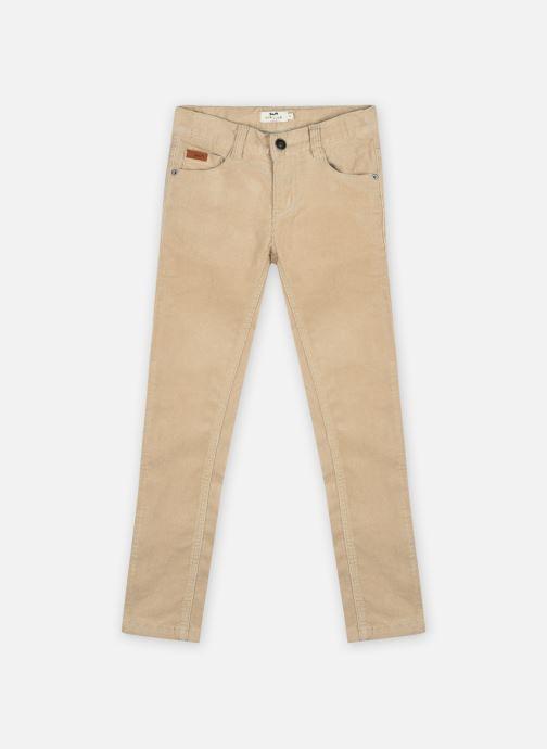 Vêtements Cyrillus Pantalon Johnatan Beige vue détail/paire