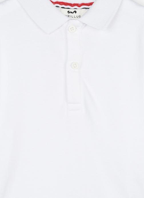 Vêtements Cyrillus Polo Jamy Blanc vue face