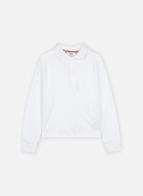 Vêtements Cyrillus Polo Jamy Blanc vue détail/paire