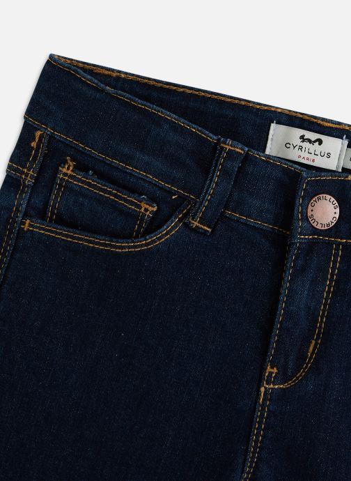 Vêtements Cyrillus Slim Ivone Bleu vue portées chaussures