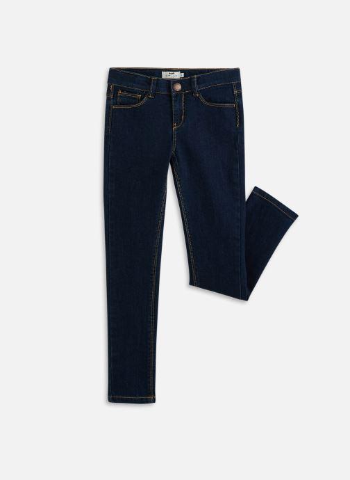 Vêtements Cyrillus Slim Ivone Bleu vue détail/paire