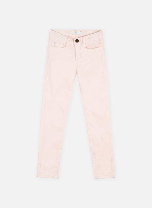 Vêtements Cyrillus Pantalon Ida Rose vue détail/paire