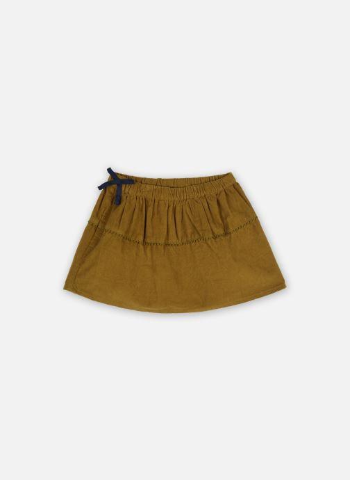 Vêtements Cyrillus Jupe Illy Marron vue détail/paire