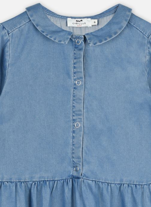 Vêtements Cyrillus Robe Chemise Ilene Bleu vue face