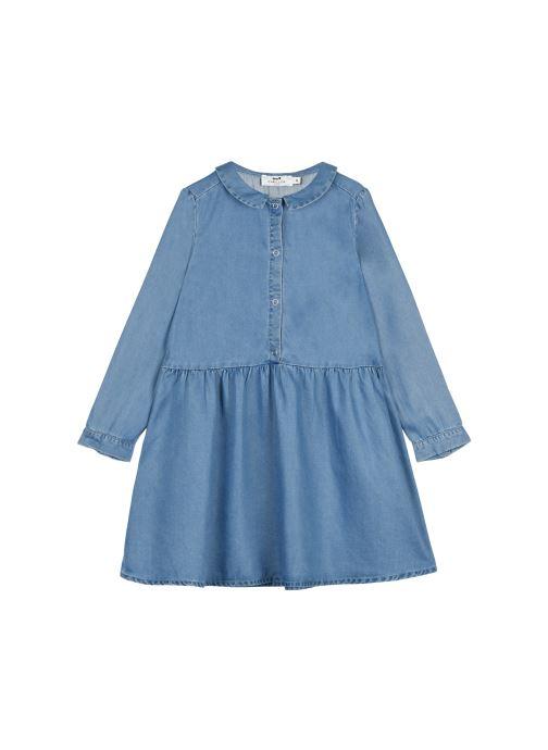 Vêtements Cyrillus Robe Chemise Ilene Bleu vue détail/paire