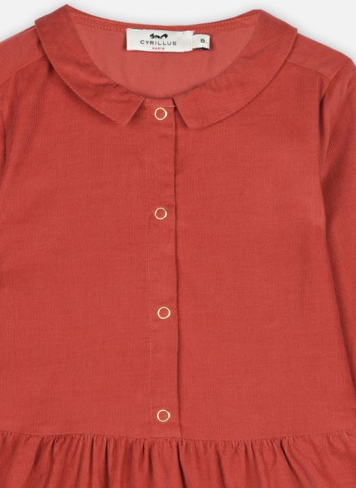 Vêtements Cyrillus Robe Chemise Ileana Orange vue face