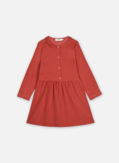 Vêtements Cyrillus Robe Chemise Ileana Orange vue détail/paire