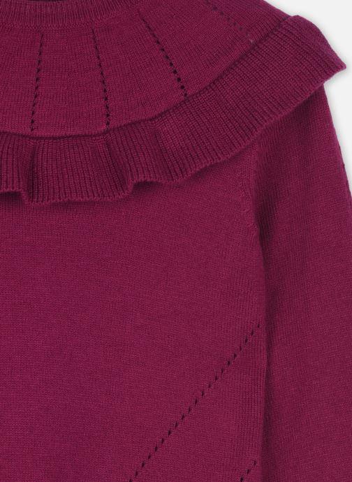 Vêtements Cyrillus Pull Ivette Violet vue face