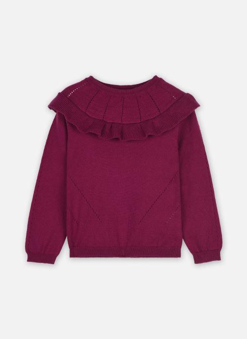 Vêtements Cyrillus Pull Ivette Violet vue détail/paire