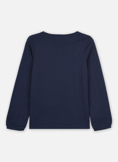 Vêtements Cyrillus Tshirt Irlande Bleu vue portées chaussures