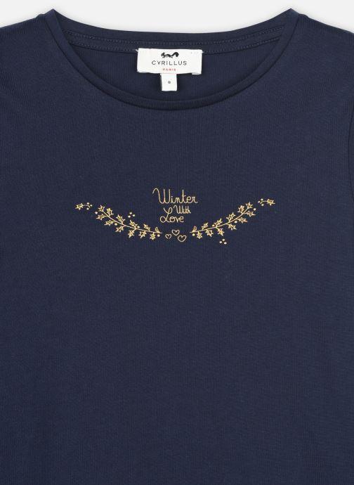 Vêtements Cyrillus Tshirt Irlande Bleu vue face