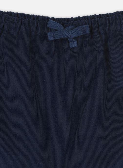 Vêtements Cyrillus Sarouel Lilou Bleu vue face