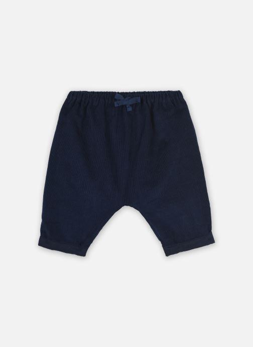 Vêtements Cyrillus Sarouel Lilou Bleu vue détail/paire