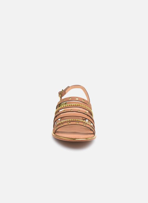 Sandali e scarpe aperte Les Tropéziennes par M Belarbi HANIAC Marrone modello indossato