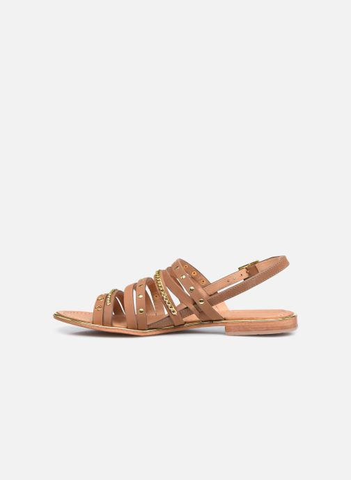 Sandali e scarpe aperte Les Tropéziennes par M Belarbi HANIAC Marrone immagine frontale