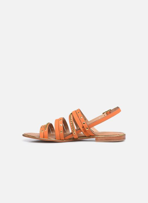 Sandali e scarpe aperte Les Tropéziennes par M Belarbi HANIAC Arancione immagine frontale
