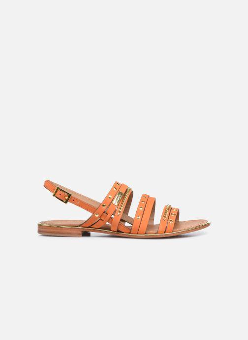 Sandales et nu-pieds Les Tropéziennes par M Belarbi HANIAC Orange vue derrière