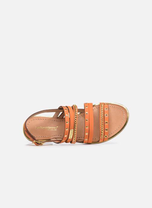 Sandales et nu-pieds Les Tropéziennes par M Belarbi HANIAC Orange vue gauche