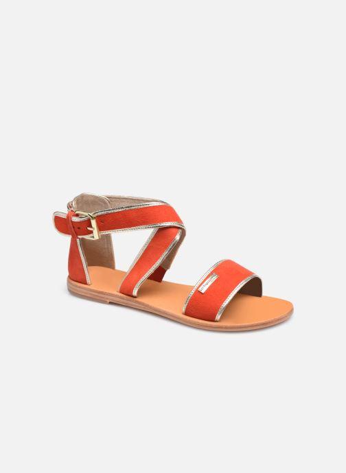 Sandales et nu-pieds Les Tropéziennes par M Belarbi PLASTE Orange vue détail/paire