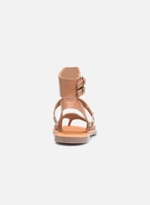 Sandales et nu-pieds Les Tropéziennes par M Belarbi PUERTO Beige vue droite