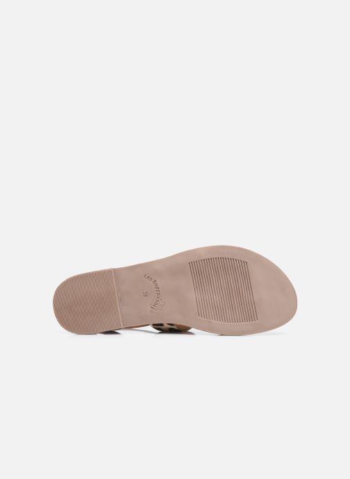 Sandales et nu-pieds Les Tropéziennes par M Belarbi PUERTO Beige vue haut