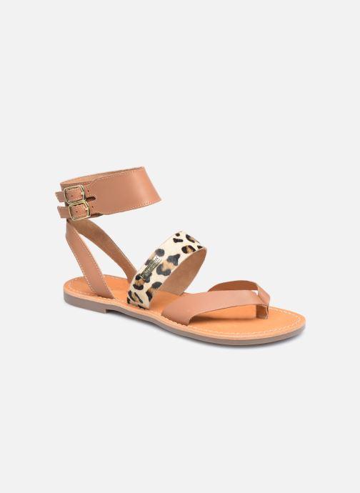 Sandales et nu-pieds Les Tropéziennes par M Belarbi PUERTO Beige vue détail/paire