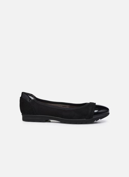 Ballerines Jana shoes Beelly Noir vue derrière