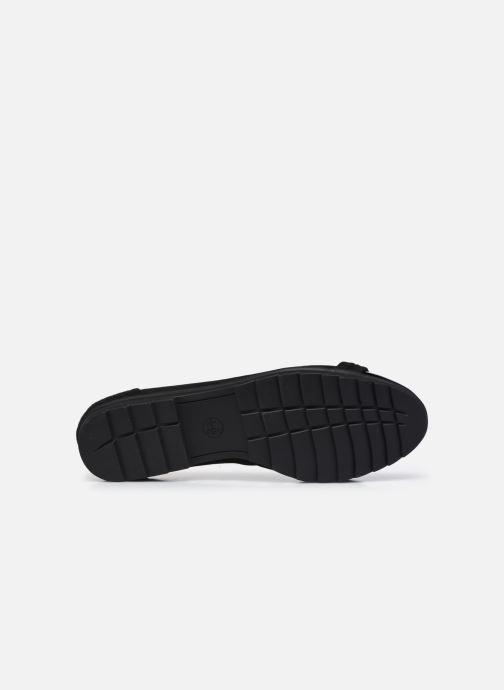 Ballerines Jana shoes Beelly Noir vue haut