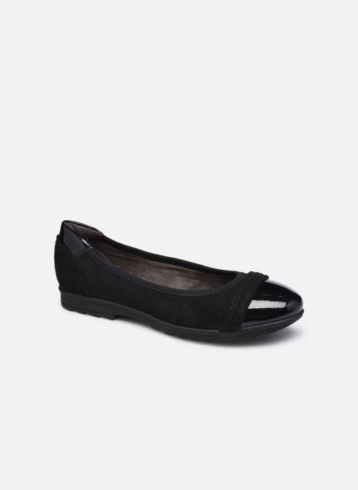 Ballerines Jana shoes Beelly Noir vue détail/paire