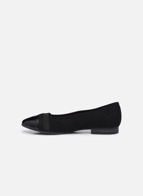 Ballerines Jana shoes Ibizu Noir vue face