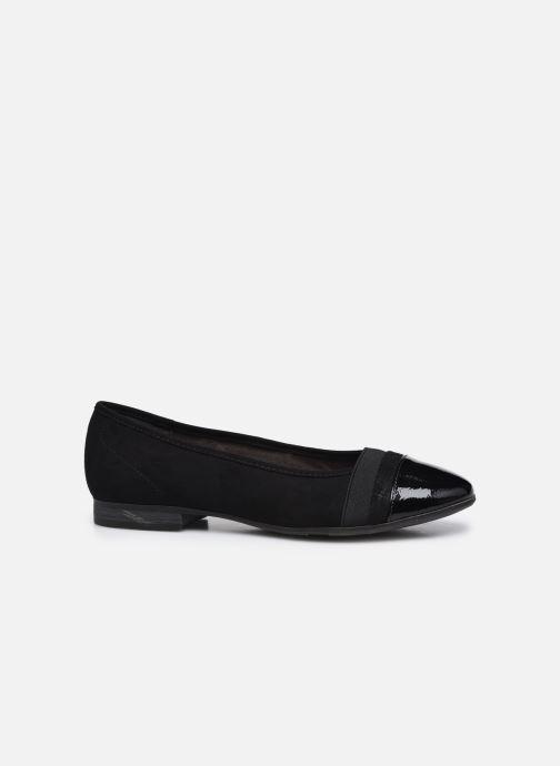 Ballerines Jana shoes Ibizu Noir vue derrière