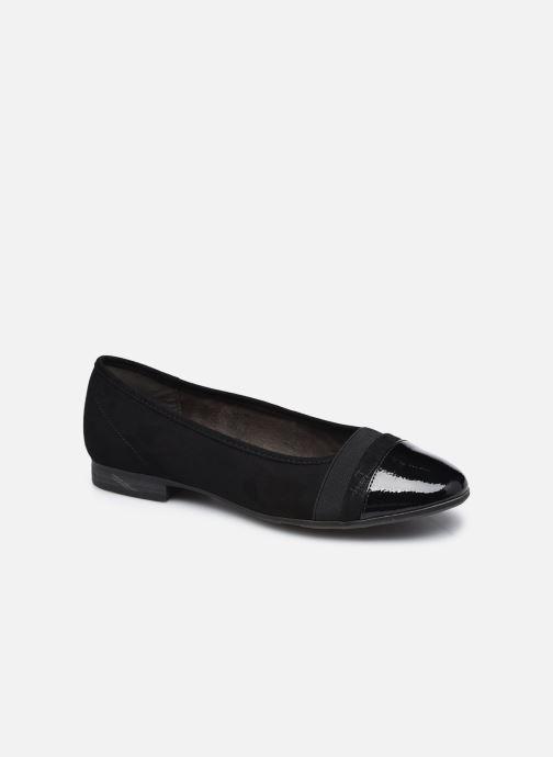 Ballerines Jana shoes Ibizu Noir vue détail/paire