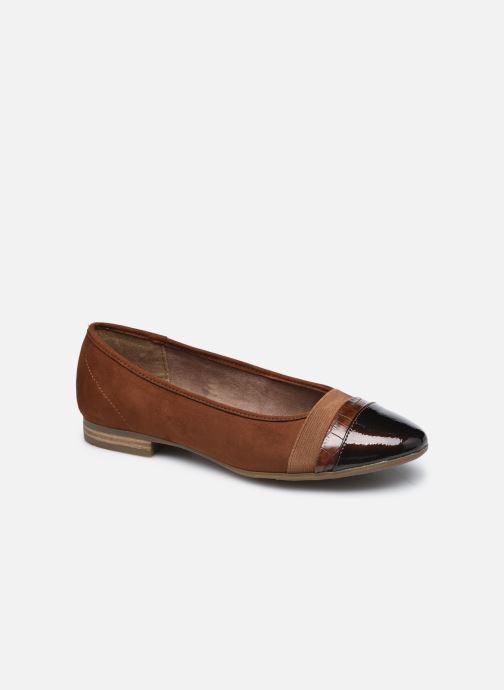 Ballerines Jana shoes Ibizu Marron vue détail/paire
