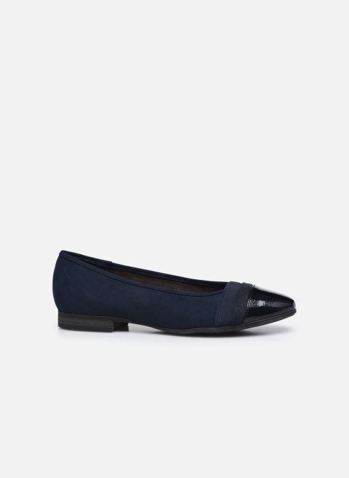 Ballerines Jana shoes Ibizu Bleu vue derrière
