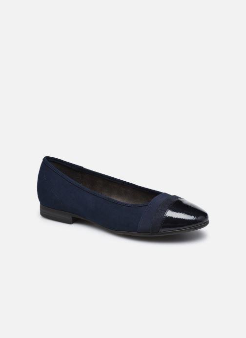 Ballerines Jana shoes Ibizu Bleu vue détail/paire